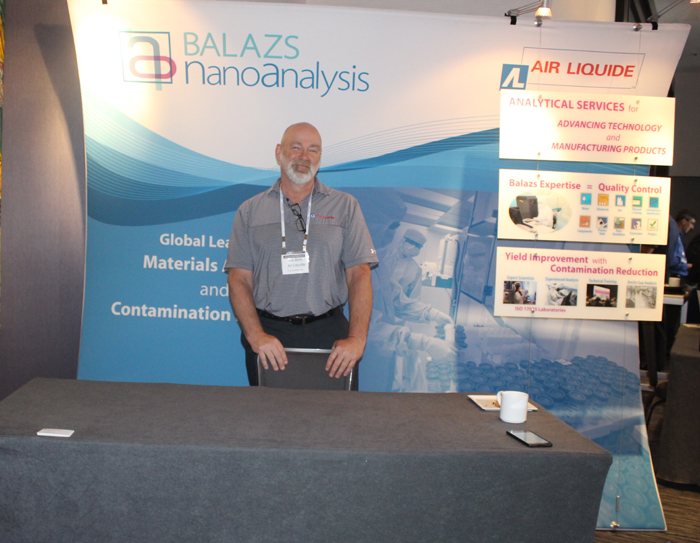 Air Liquide/Balaz NanoAnalysis Booth, Joe Brim