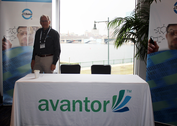 Avantor Booth, Doug Stinebaugh