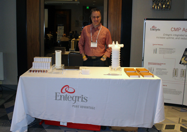 Entegris Booth, Scott Moroney
