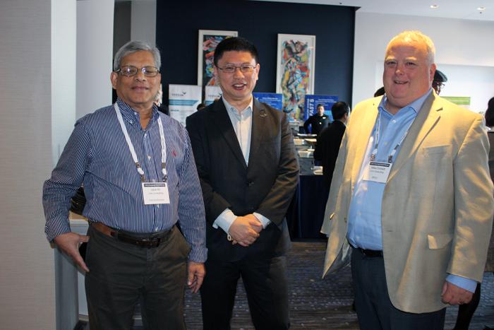 Iqbal Ali, Rick Chen, Mike Corbett