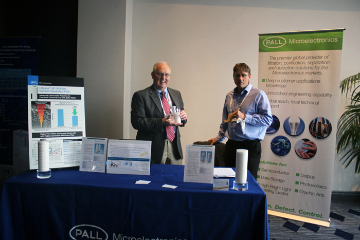 Pall Microelectronics Booth - Anthony Shucosky, Christian Besendorfer