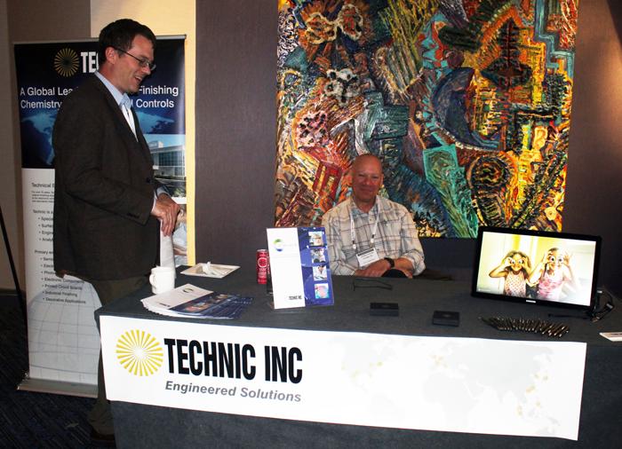 Technics Booth - Jeffrey Eggert, Jay Henderson